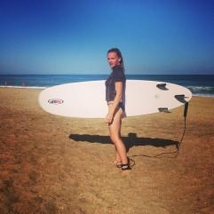 Séance surf terminée