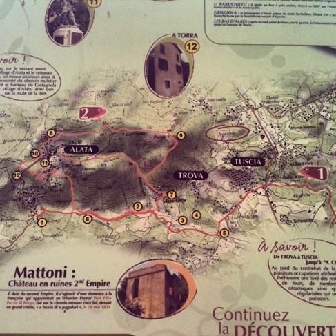 Cartographie Alata