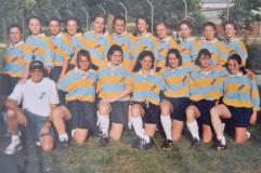 Les Gazelles de L'USA Limoges - Tournée au Portugal 1997