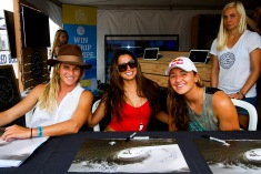 Courtney Conlongue, Malia Manuel, Carissa Moore