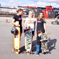Starting girl & Longboard Girls Crew France