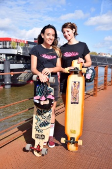 Alice & Tahina Longboard Girls Crew France