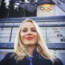 Starting girl olympic games
